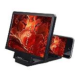 DokFin HD Smartphone Lupa, Amplificador de Pantalla 3D, Película Video E-Book...