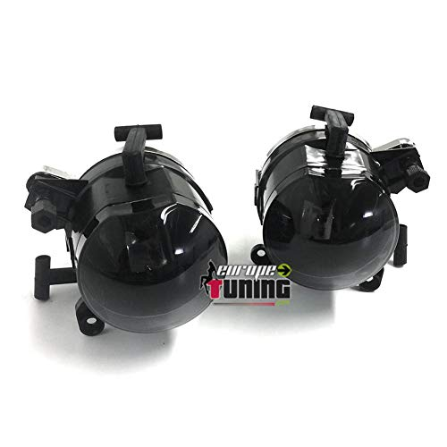 europetuning - 04613-2 ANTI BROUILLARDS NOIRS SERIE 3 E46 COUPE CABRIOLET PHASE 1 1999-2003