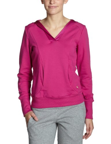PUMA Damen Sweatshirt Move Graphic Hooded, festival fuchsia, M, 506877 03 (Hooded Ultimate Pullover Cotton)