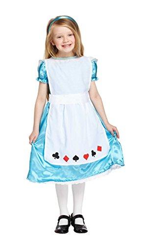 leid Kinder Alice Kostüm in mittelgroß-passend für 7-9 ()