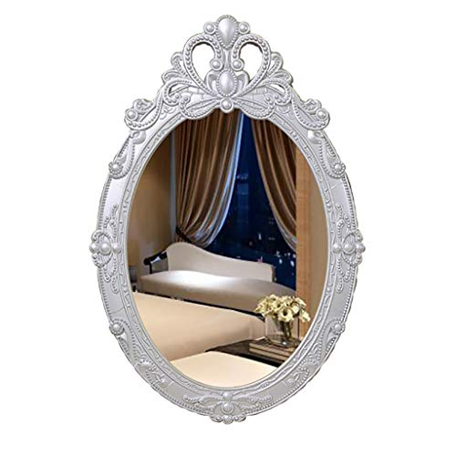 EuropäIscher Badezimmerspiegel An Der Wand Befestigter Dekorativer Spiegel des Kosmetikspiegels