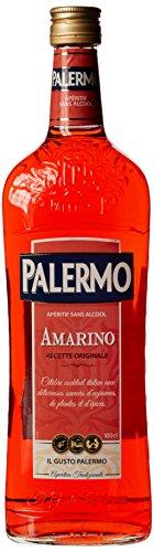 Palermo Amarino Kräuter + Früchte Aperitif ohne Alkohol 1 Liter aus Frankreich