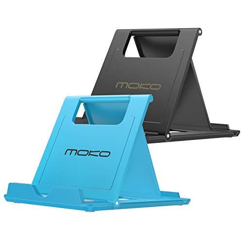 MoKo Mini Portable Handy/Tablet Ständer(2 Pack), Desktop Halterung Ersatz für 6-8