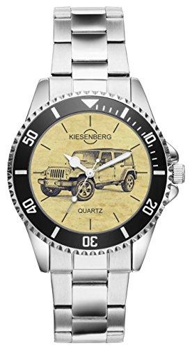 Regalo para Jeep Wrangler Fan Conductor Kiesenberg Reloj 6289