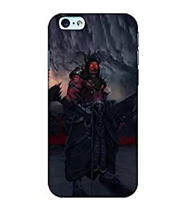 Fuson Designer Back Case Cover for Apple iPhone 6 (The Devil With Red Eyes)