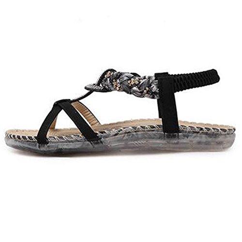 SUNAVY - Cinturino alla caviglia Donna Black