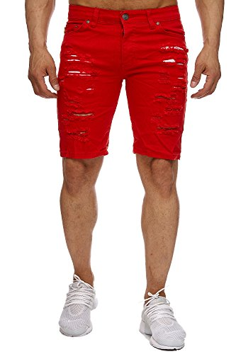 Kc-1981 -  Pantaloncini sportivi  - Uomo Rot