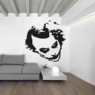 'Adesiviamo wall0000450B L Wandtattoo, PVC 55 x 55 cm schwarz