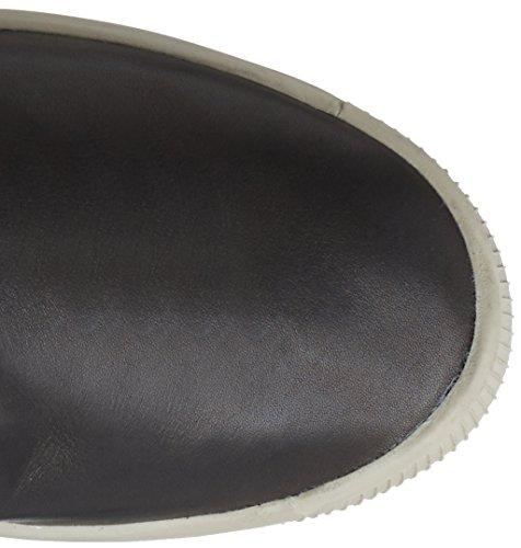 Softinos Ilka, Bottes mi-hautes sans doublure femme Noir (black (light Grey Sole))