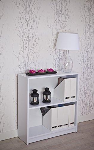 Intradisa 8001 - Regal im klassischen Design, 29 x 82 x 87 cm, weiß