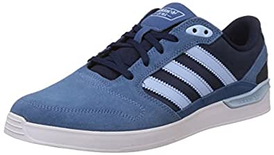 adidas Originals Men's Zx Vulc Blue Leather Skateboarding Shoes - 12 UK