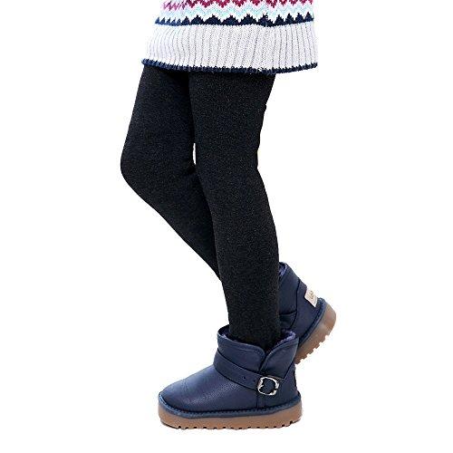 Hawkimin_Babybekleidung Hawkimin Winter Mädchen Hosen Kinder Dicke Warme Elastische Taille Leggings