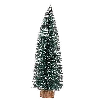 Vi.yo Mini Árbol de Navidad Artificial Arbol Artificial de Oficina Hogar Decoración de Navidad Verde Merry Christmas