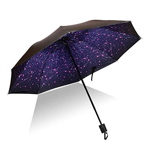 Ansblue, Taschenschirm Sternenhimmel Starry Sky