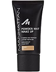 Manhattan Powder Mat Make up Beige 82, 1er Pack (1 x 30 ml)