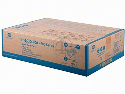 Preisvergleich Produktbild Konica Minolta Magicolor 4690 MF (A0DKJ51) - original - Toner MultiPack (cyan, magenta, gelb) - 4.000 Seiten