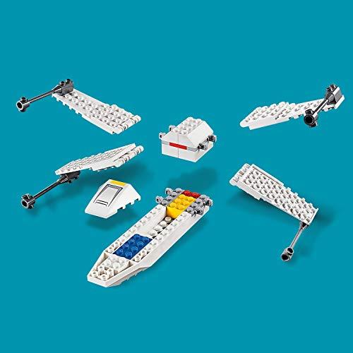 41tLtPwzacL - LEGO Star Wars - Asalto a la Trinchera del Caza Estelar Ala-X, juguete de construcción de nave espacial de La Guerra de las Galaxias (75235)