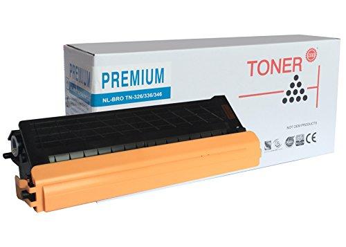 PREMIUM TONER - TN326C - 336C - 346C - TONER - CYAN - 3.500 seiten, für : Brother HL-L8250CDN-L8350CDW-L8350CDWT, MFC-L8600CDW-L8650CDW-L8850CDW, DCP-L8400CDN-L8450CDW.