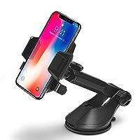 Spigen Kuel Ap12T Araç İçi Telefon Tutucu / Tüm Cihazlarla Uyumlu - Black