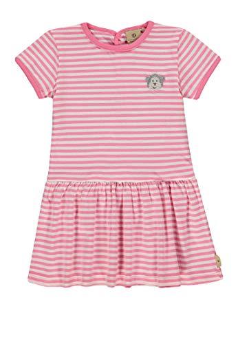 Bellybutton mother nature & me Baby-Mädchen 1/4 Arm Kleid, Rosa (Bubblegum 2067), (Herstellergröße: 86)