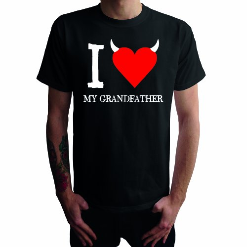 I don't love my Grandfather Herren T-Shirt Schwarz