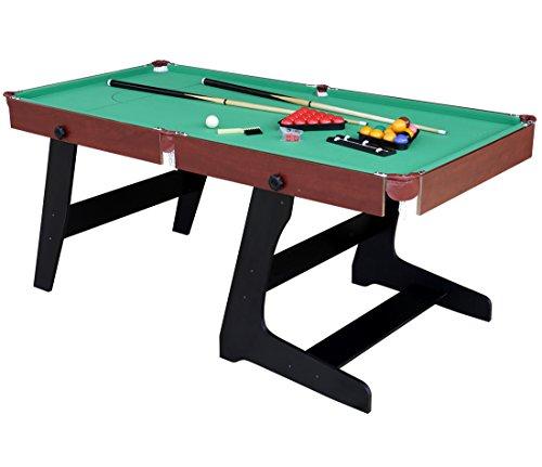 HLC 183*91*78CM faltbarer Billardtisch Pool Snooker Tischspiel Grün