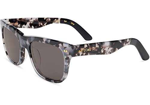 Toms Sonnenbrille James Matte Grey Tortoise, Dunkelgrau