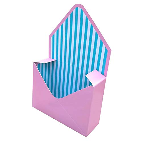 Gift Bags & Wrapping Supplies - 2019 5pcs Envelope Flower Gift Box Lovely Hand Hold Collapsible Carton Bouquet Arrangement Pot - Wrapping Craft Box Box Carton Candy Gift Bags Box Men Decor Stora