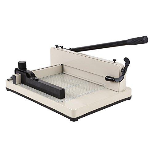 amzdeal Papierschneidemaschine A3(einschließlich A4,A5,A6), A4(einschließlich A5,A6) Schneidegerät Stapelschneider(A4 Ganzmetall)