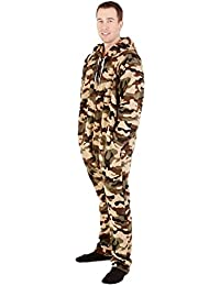 Forever Lazy Unisex non-footed adulto Onesie