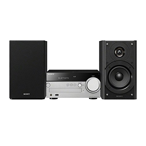 Sony CMT-SX7B Multi-room Hi-Fi Sound System (High-Resolution, Audio Playback, CD, Digital Radio, USB-Eingang) silber/schwarz -