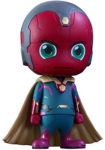 Avengers Age of Ultron Cosbaby (S) Minifigur Serie 2 Vision 9 cm Toys Marvel figures