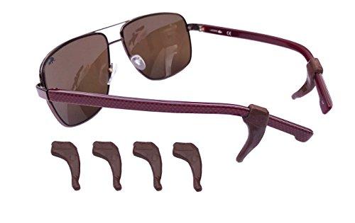 Medipaq® SPEC TABS – ANTI-RUTSCH Brillenhalter – Grip Lesebrille Sonnenbrillenhalter – 6er Pack