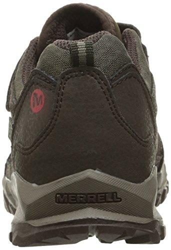 Merrell Jungen Capra Bolt Low A/C Waterproof Trekking-& Wanderhalbschuhe Braun (Brownbrown)