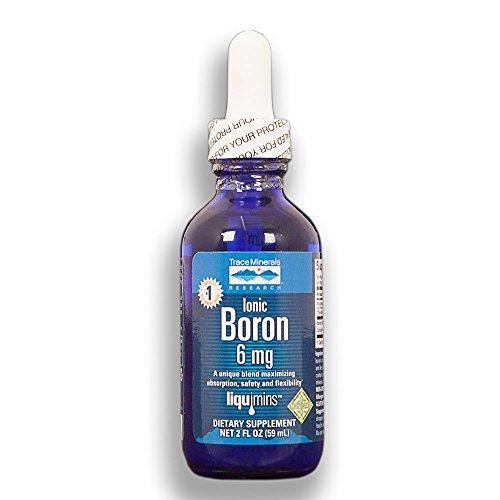 Trace Mineralstoffe Forschung Ionic Boron Drops 6 mg (2 fl oz 59 ml)