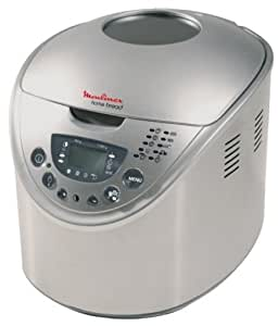 Moulinex OW300001 Machine à Pain Homebread Inox