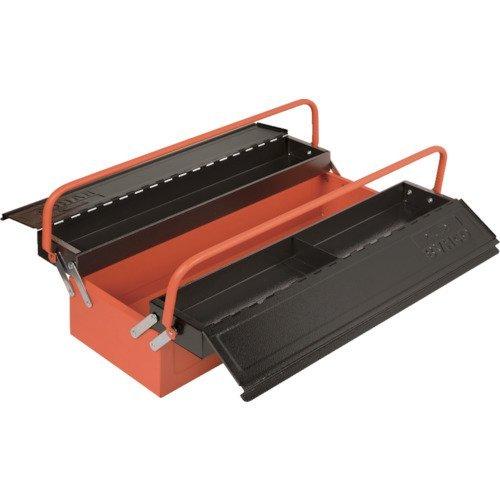 Bahco 1497Mbf350 - Caja de herramientas con 3 compartimentos 570 x 225 x 185mm
