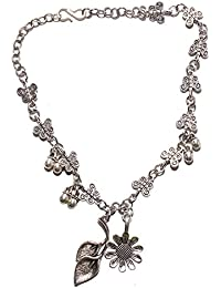 Aamoddhini Party Wear Western Fancy Designer Necklace Set For Women And Girls LN-74