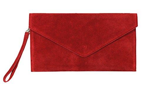 Big Handbag Shop, Borsetta da polso donna One Red