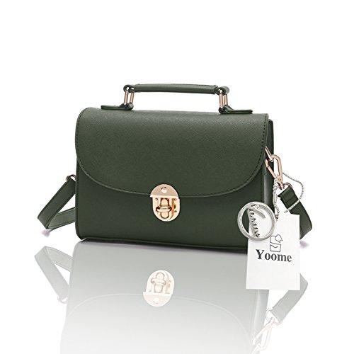 Borsa a tracolla trasversale a forma di borsa a tracolla elegante Yoome per borsa a tracolla in borsa da borsetta - Esercito Esercito