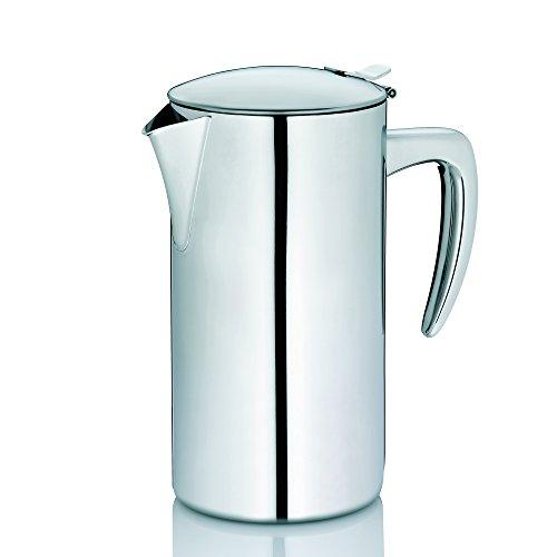 Kela 11351 Kaffeekanne Latina Kanne für Milch, Tee und Kaffee 1,1 L aus Edelstahl