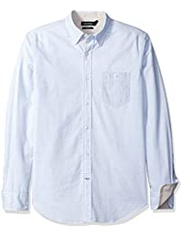 Nautica Oxford Slim Fit, Chemise Casual Homme