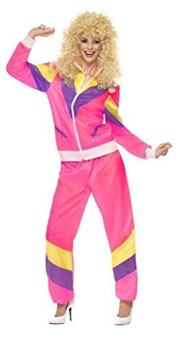 zug 1980er jahre Trainingsanzug 80er jahre Größe of Fashion Kostüm Kleid Outfit - 40-42 (1980er Jahre Outfits)