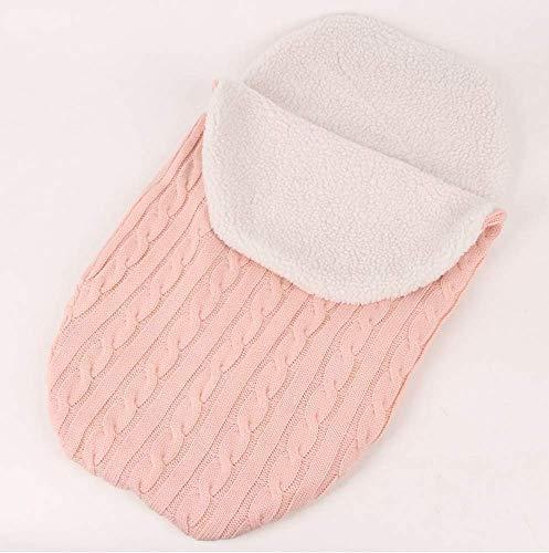 Imagen para LXGKREL - Saco de Dormir para bebé (Suave, para recién Nacidos de hasta 12 Meses, Todas Las Estaciones) Rosa Rosa