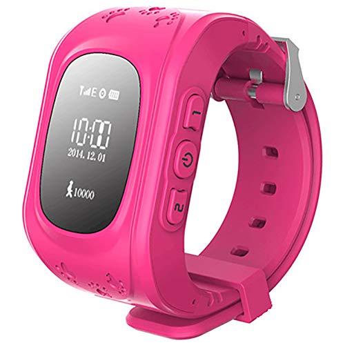 CH-JIE Smart Watch Neu, für Kinder Kind SIM Smartwatch, SOS Call GPS-Verfolger Remote-Monitor Anti-Lost Finder Voice Chat - für Android und Ios