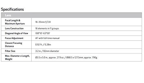 Canon EF 16–35mm f/2.8L III USM Lens
