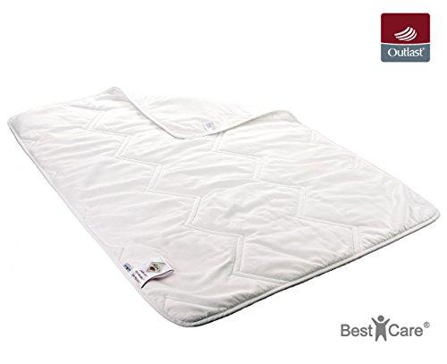 BestCare® Outlast® Ganzjahresbettdecke, Steppdecke wärme- und temperaturregulierend für Kleinkinder, Kinder und Erwachsene für gesünderen und besseren Schlaf, Größe:100x135 cm