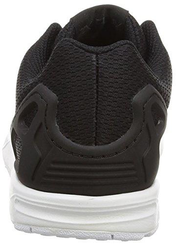 adidas Unisex-Kinder Zx Flux Low-Top Schwarz (Black/Black/Ftwr White)
