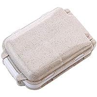 Sisaki Medizinischer Pillendosenhalter-Drogen-Medizin-Kasten-Organisator-Kasten-Lagerbehälter Tablettenteiler... preisvergleich bei billige-tabletten.eu