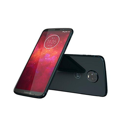 Motorola Moto Z3 Play Smartphone de 64 GB, Deep Indigo con Moto Power Pack y TurboPower Charger [Italia]